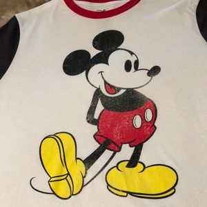 Classic Mickey Mouse Disney T Shirt